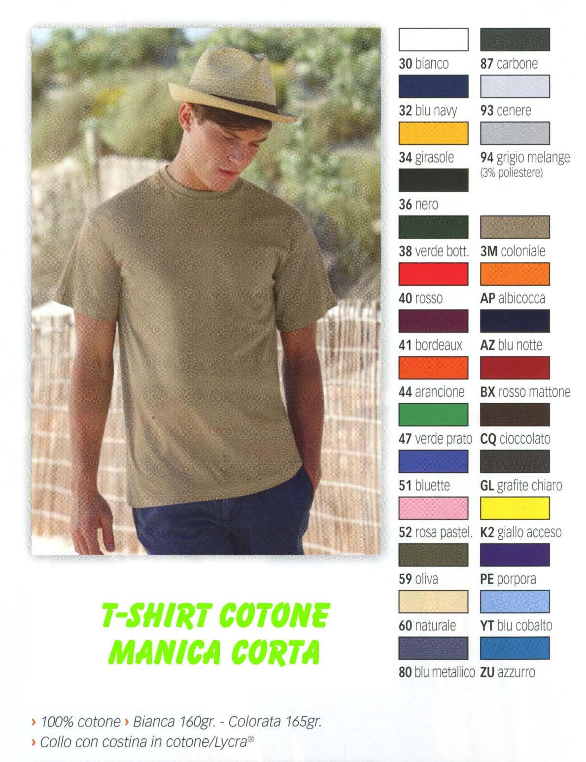 T-Shirts manica corta