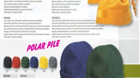 Cappello-fascia pile multiuso