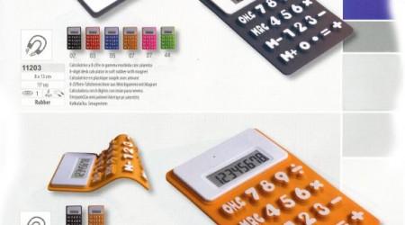 Calcolatrice in gomma