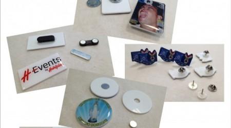 Spille e magneti in plexiglass